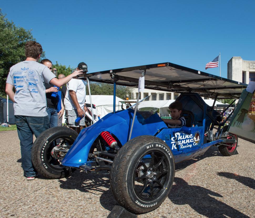 The Solar Car Challenge