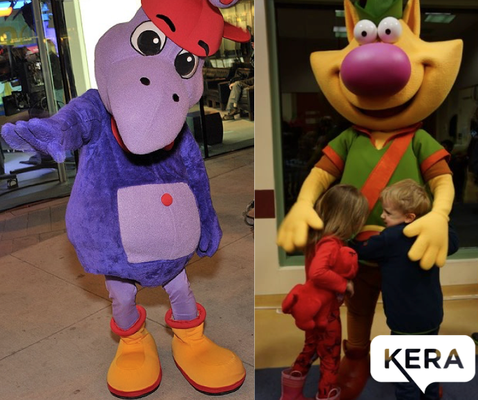 Appearances by KERA's Digit and Nature Cat!